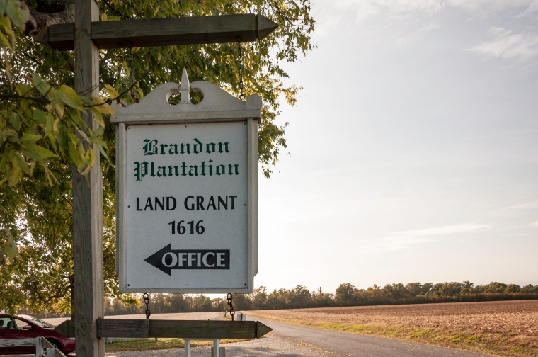 Brandon Plantation Virginia History Podcast