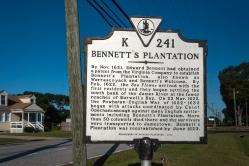 Bennett's Plantation Marker