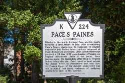 Pace's Paines Marker