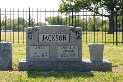 Mary Jackson's Grave at Bethel AME Church, Hampton, VA