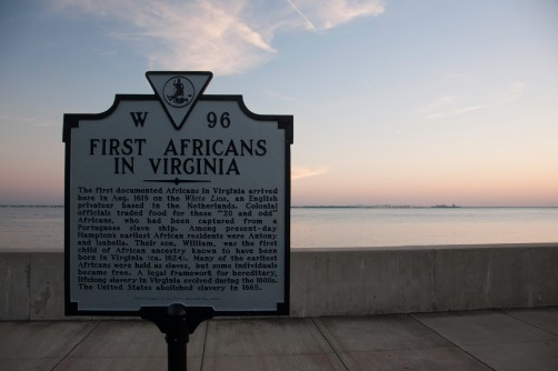 1619 was the beginning of Black History in English North America. That history began here at Point Comfort.