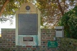 Taps Monument at Berkeley Plantation