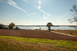 The James River at Berkeley Plantation