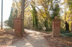 Original Carriage Entrance to Berkeley Plantation.