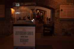 The Jefferson Davis Exhibit at Fort Monroe's Casemate Museum