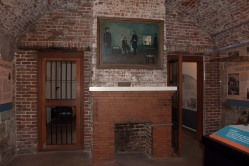 Jefferson Davis Jail Cell at Fort Monroe