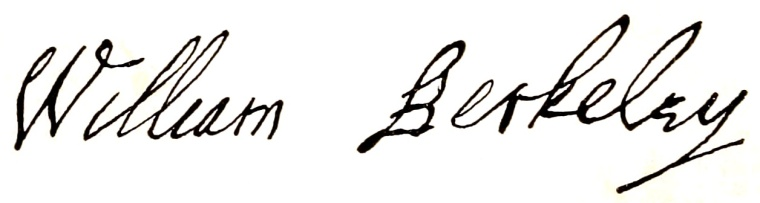 Berkeley Signature