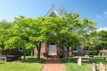 St. John's Episcopal, Hampton (Original Church 1610).