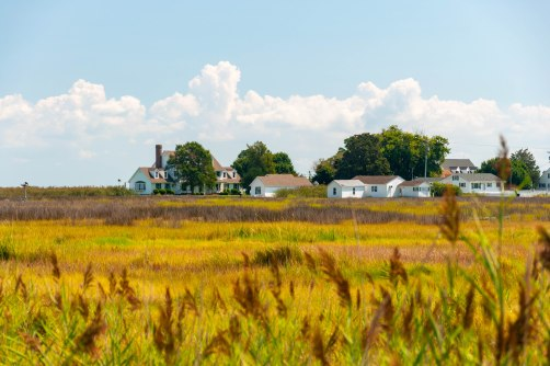 Tangier Island, where many Powhatan Warriors were sent during the 3rd Anglo-Powhatan War