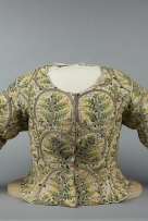 Embroidered bodice, circa 1610, Courtesy of the Shakespeare Birthplace Trust.