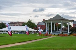 The Gazebo just outside of Fort Monroe.