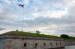 Fort Monroe was commissioned in 1819 as a result of the War of 1812. It never saw battle, though it became a symbol of hope and salvation for nearby slaves 4 decades later.