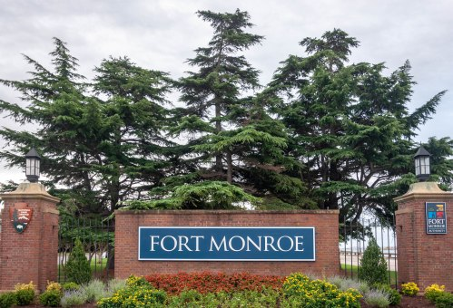 Entrance to Fort Monroe