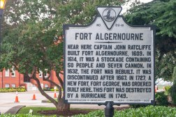 "The ""Twenty and Odd"" would have arrived at Fort Monroe's great-grandfather, Fort Algernourne (aka Algernon), which was originally built in 1609."