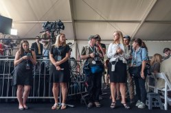 American Evolution and the Media await the Processional