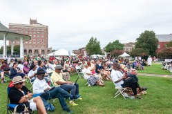 The Grounds Crowd at the 400th Commemoration Ceremony