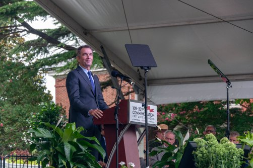 Governor Ralph Northam offers the keynote address.