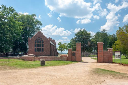 The Memorial Church on Jamestown Island