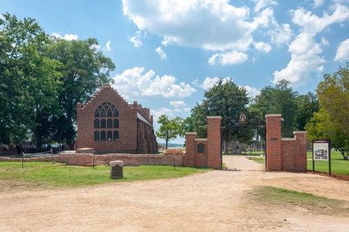 The Memorial Church on Jamestown Island