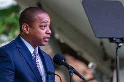 Lieutenant Governor Justin Fairfax delivered the final speech of the day.