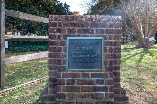 Local Thoroughgood House Historical Marker
