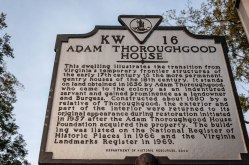 Thoroughgood House Historical Marker