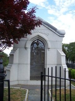 The Bolling Mausoleum at Blandford Cemetery, Petersburg