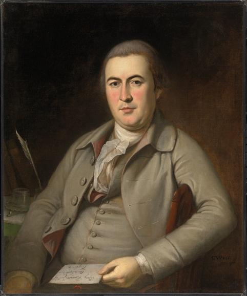Benjamin Harrison IV by Charles Wilson Peale
