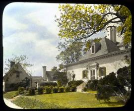 Claremont Manor, on land patented by Benjamin Harrison I