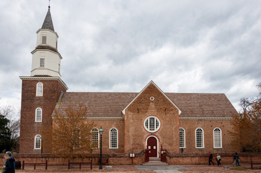 Bruton Parish Church, Williamsburg, VA