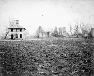 Mansfield just after the Civil War