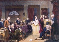 Opening of the 1st Continental Congress