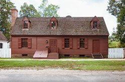William Randolph House at Colonial Williamsburg