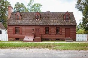 William Randolph House at Colonial Williamsburg